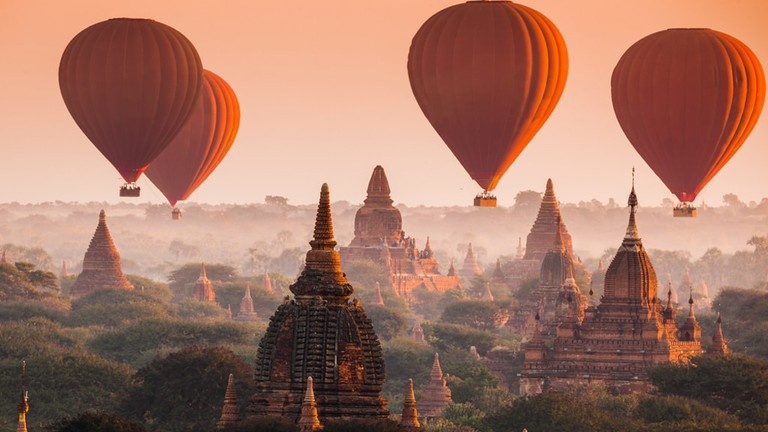 A Guide to Bagan, Myanmar's Hot Air Balloons