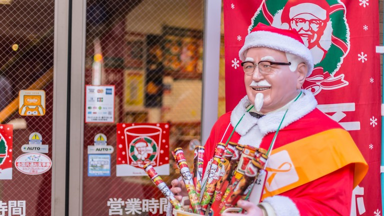 Image result for christmas in japan kfc