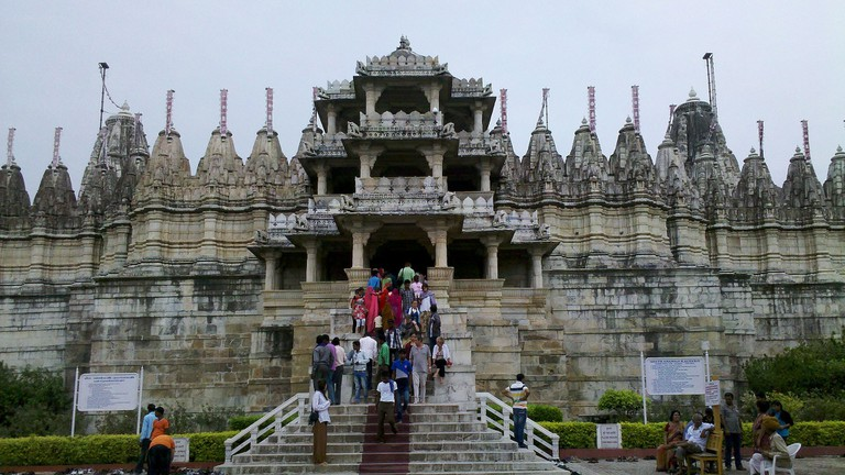 Jain temple at Ranakpur, Rajasthan | © Mouyse/Wiki Commons