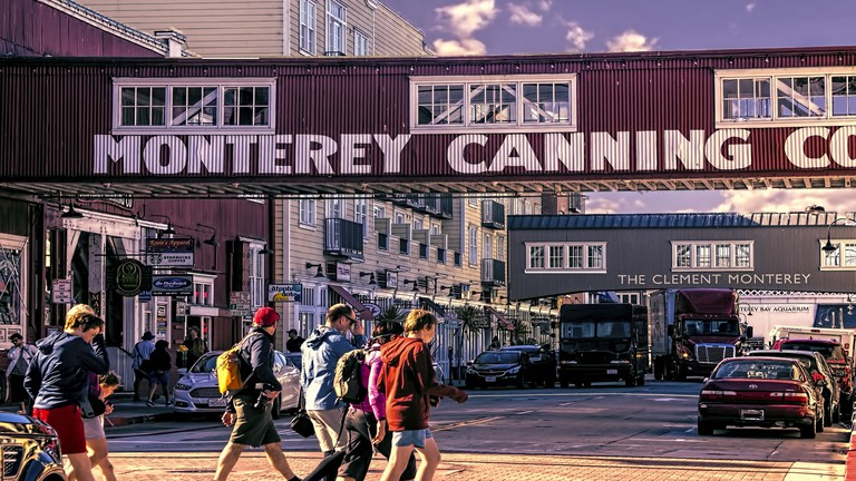 A Brief History Of Cannery Row California