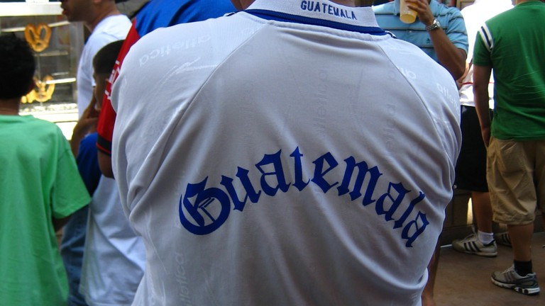 A Guatemalan football fan | © Ruth L / Flickr
