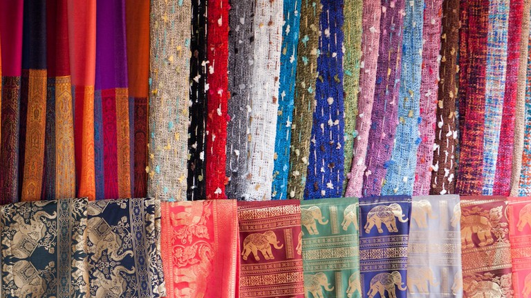 Beautiful Thai Silk | © Brian Jeffery Beggerly/Flickr