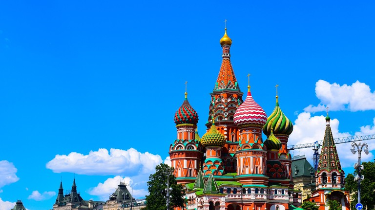 Image by Shutterstock St Basils Cathedral In Moscow Men/'s Tee