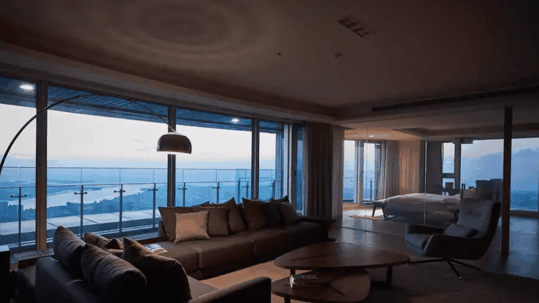 Spectacular views of the Danshui River   Courtesy of Airbnb