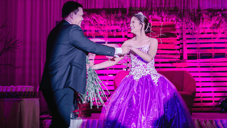 061d1398e Real Life Fairytale: A Girl's 18th Birthday in the Philippines