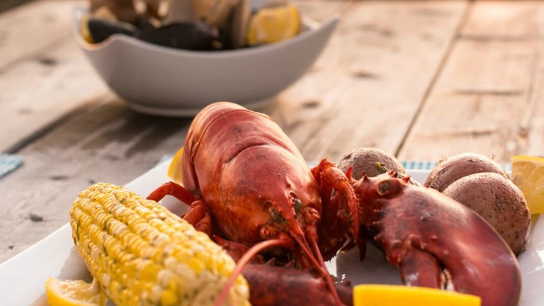 Lobster Boil   Courtesy of Ye Olde Argyler Lodge