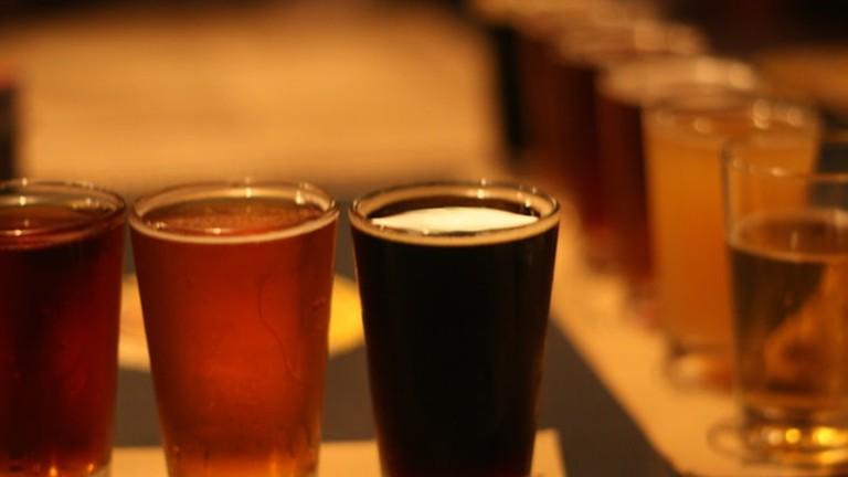 Flight of Beers | © Karen | Flickr