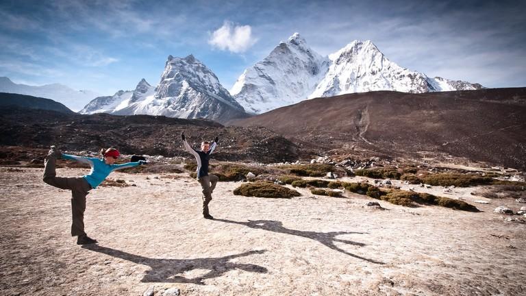 Yoga trekking in Nepal   © Ryan Smith/Flickr