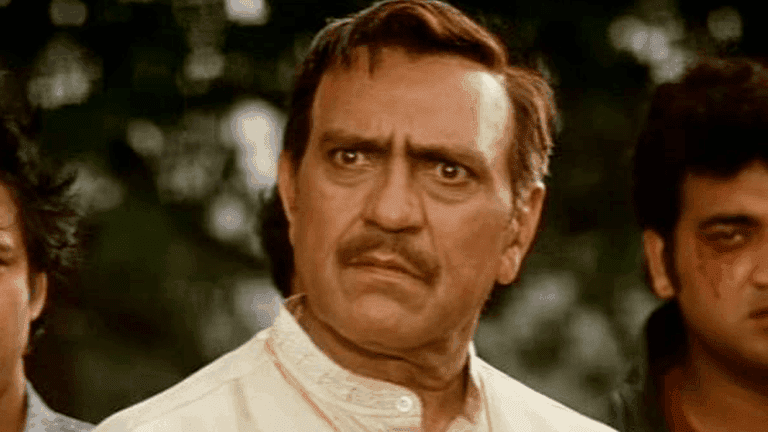 Bollywood actor Amrish Puri playing a typical Indian father in Dilwale Dulhania Le Jayenge | © Yashraj Films