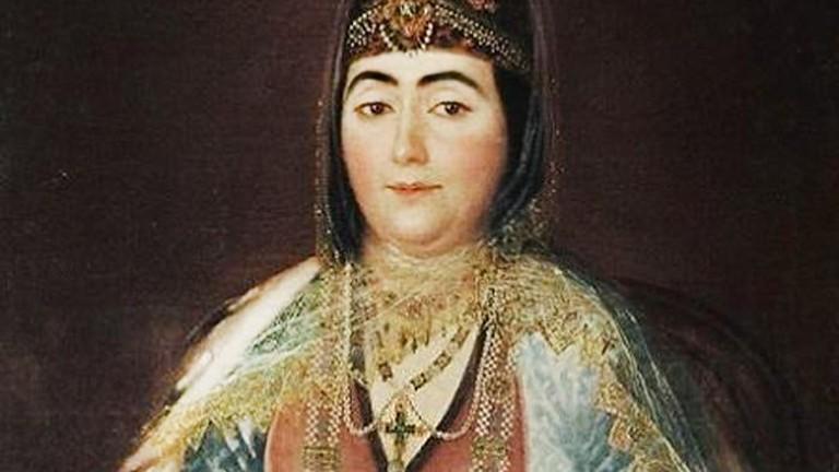 georgian woman