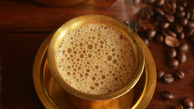 A Brief History of South Indian Filter Coffee