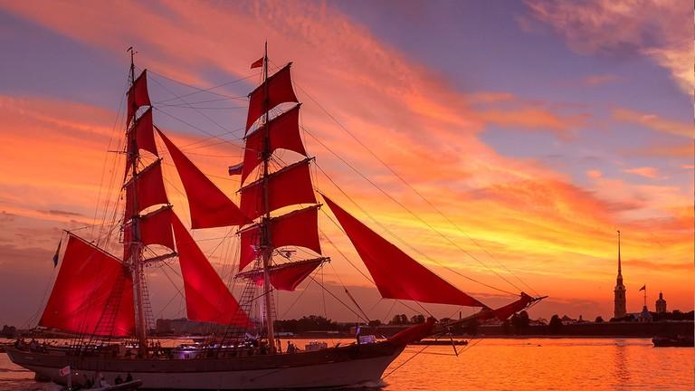 A Brief History of Saint Petersburg's Scarlet Sails Festival
