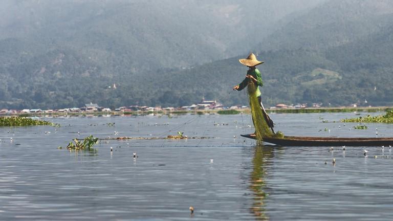 Inle Lake, Maing Touk Village, Myanmar | © insideout78/Shutterstock