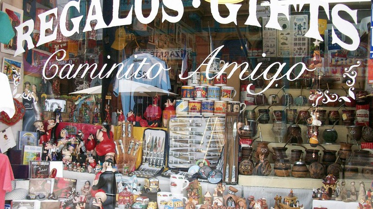 A gift shop in Argentina