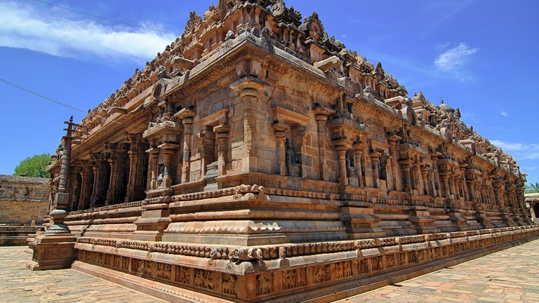 Airavateshwarar Temple near Kumbakonam is a UNESCO World Heritage Site