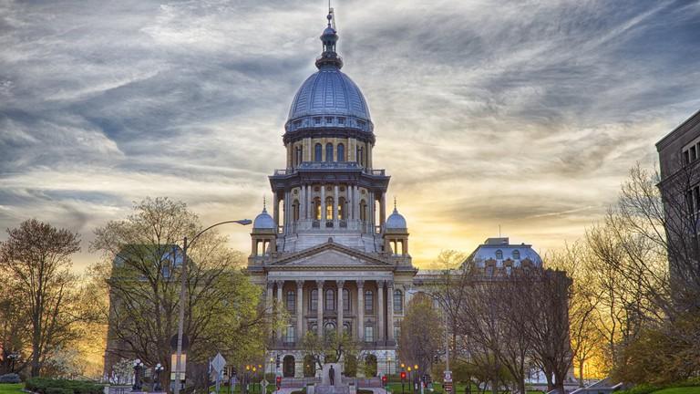 Illinois State Capitol Building, Springfield, IL