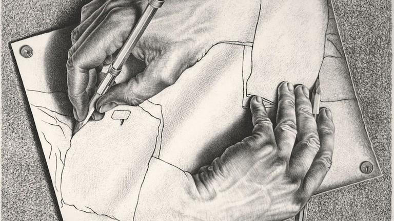 Master Of Illusion Mc Escher Gets A Brooklyn Retrospective