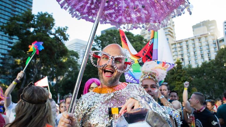 Sydney Gay & Lesbian Mardi Gras Parade | © Tripping The Light/Shutterstock