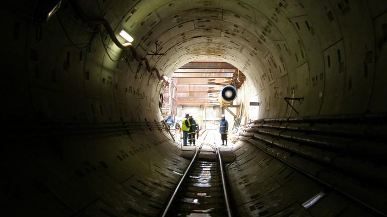 Thessaloniki's metro construction