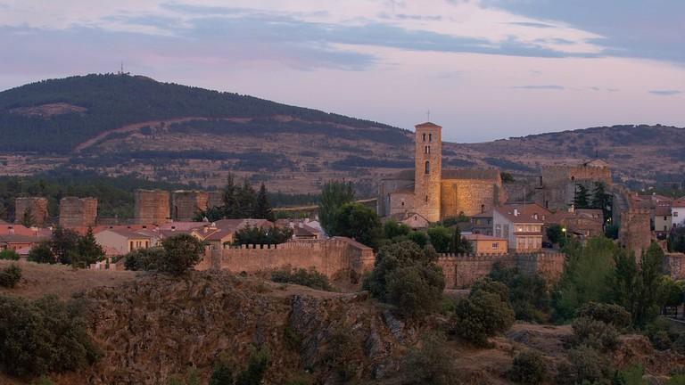 Buitrago del Lozoya's Moorish walls