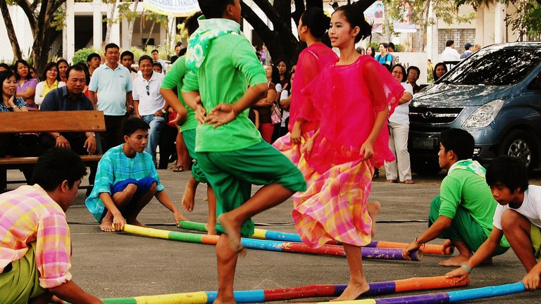 990f0f118e4d Tinikling: The National Dance of The Philippines with Bamboo Poles