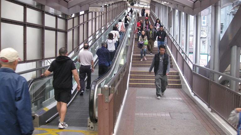 Ride The World S Longest Escalator In Hong Kong