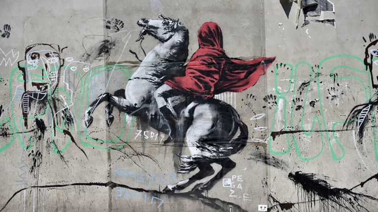 Provocative New Banksy Murals Have Appeared In Paris