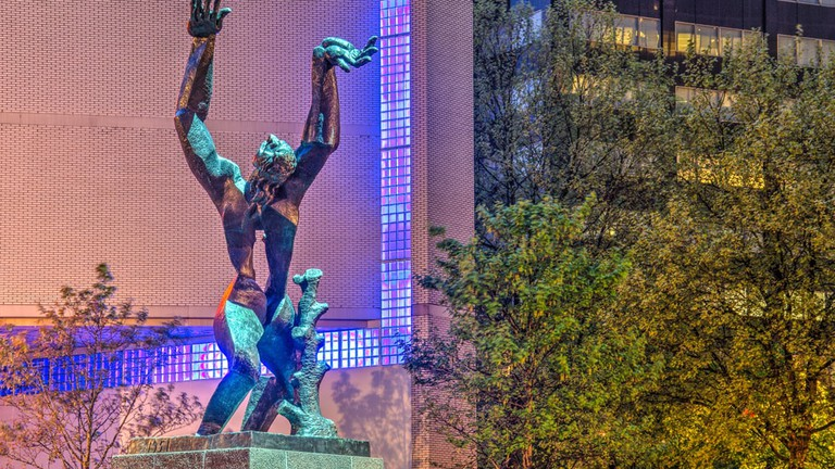The Story Behind Rotterdam's 'Destroyed City' Sculpture
