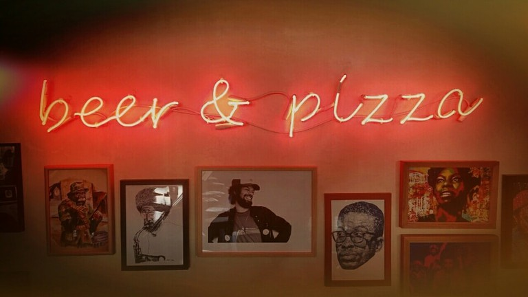 Beer & Pizza, from Brewklyn, Glyfada, Greece