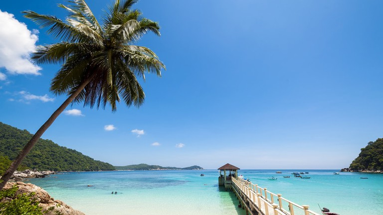 Paradise and diving schools in The Perhentian Islands