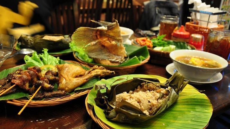 Delicious Sundanese meal