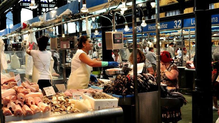 The Mercado Abastos, Jerez de la Frontera's main food market