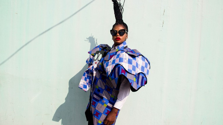 Meet Tchiana Tchicou Pembey The Congolese Designer Paying Homage To Africa