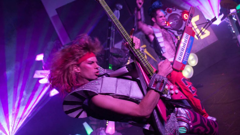 The Baltimore Rock Opera Society combines rock concerts and storytelling for a unique theatrical experience.