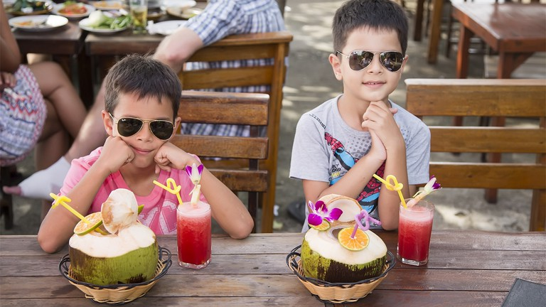 There are many ways for kids to enjoy Thailand