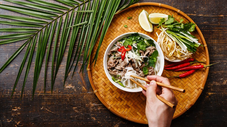 How To Eat Pho Vietnamese Style