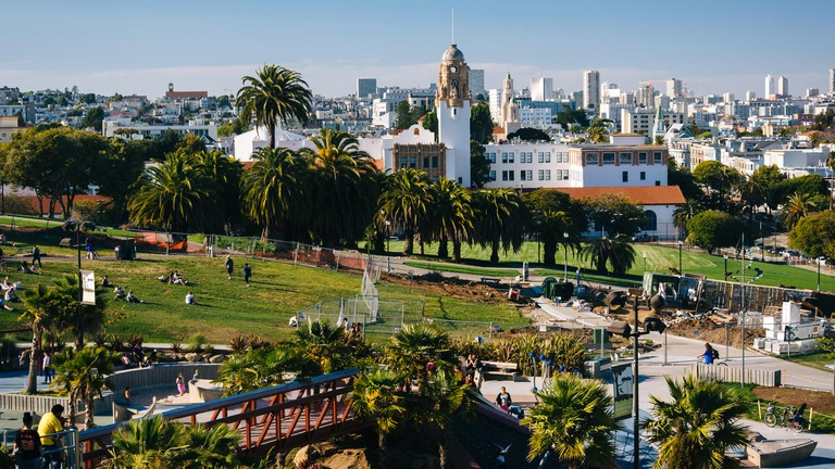 Mission Park, in San Francisco, California