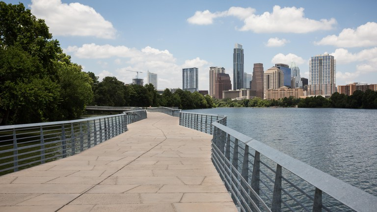 The Boardwalk Trail at Lady Bird Lake beckons