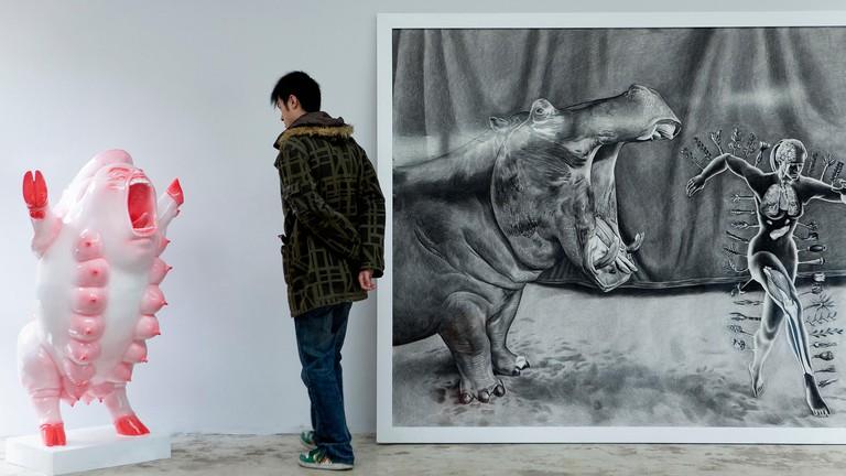 Art lovers will find progressive works of contemporary art in the 798 Art District in Beijing
