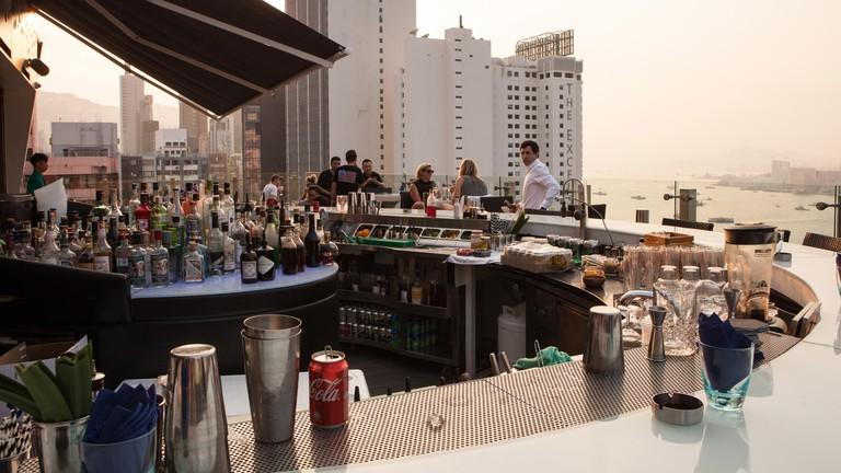 Causeway Bay is one of Hong Kong's drinking neighbourhoods