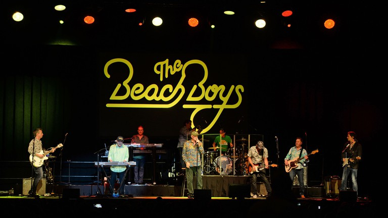 The Beach Boys perform in Hollywood