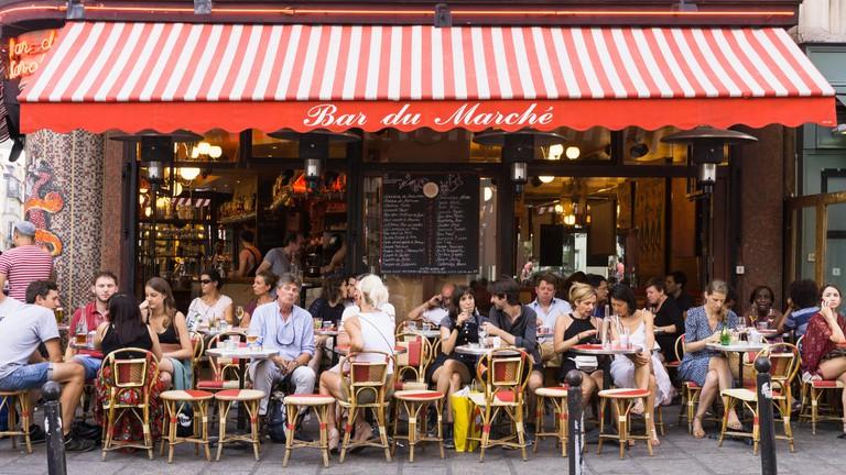 Saint-Germain is one of the Paris's most sophisticated arrondissements