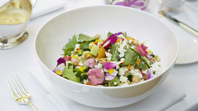 West Hollywood Salad at The Polo Lounge