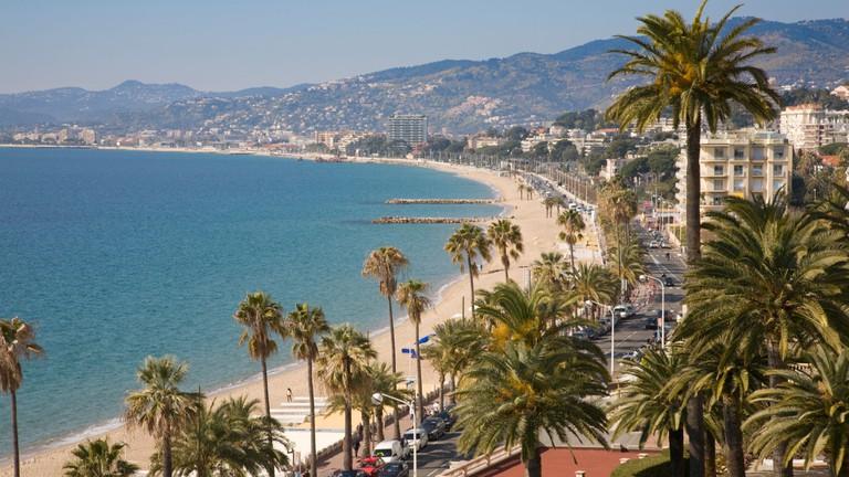 Midi Plage beach, Cannes, France
