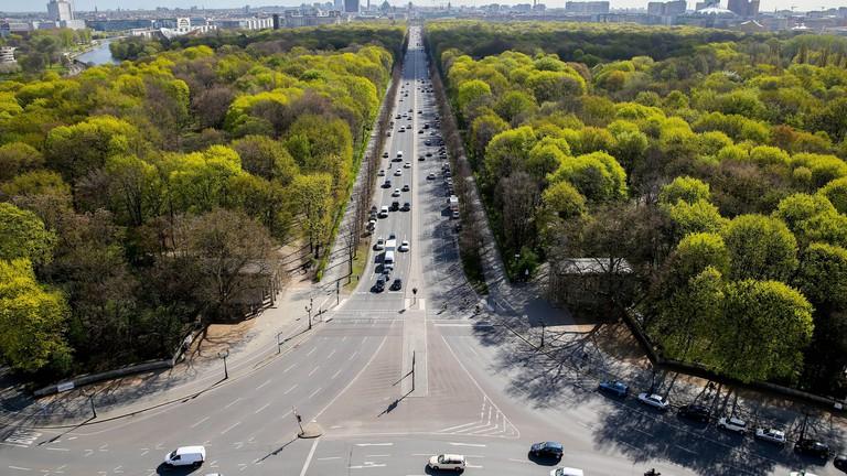 The Tiergarten is in Central Berlin