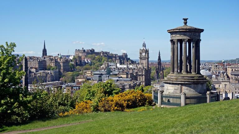 Edinburgh is not in short supply of luxury hotels or awe-inspiring views