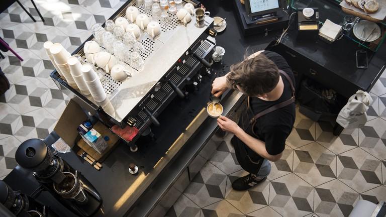 The artisan coffee roaster Cafelix has a semi-religious status among Tel Avivians