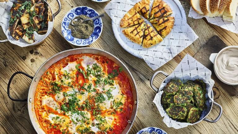 Taste the Mediterranean-inflected dishes at Ha'achim