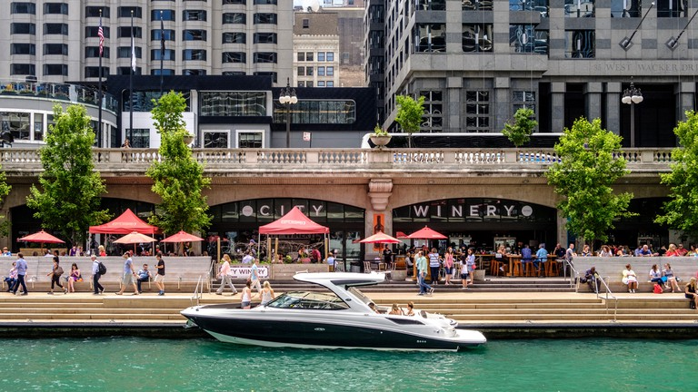 Upscale spots like City Winery ushered in a period of renewal along the Chicago River