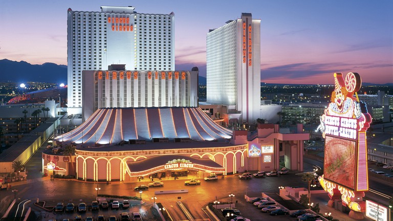 Circus Circus Hotel and Casino has been on the Strip for over 50 years